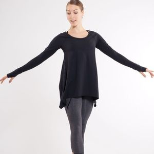 Lululemon Rehearsal Long Sleeve Black Size 6